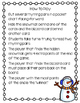 Snowman Seek Winter CVC Rhyming Find the Snowman Literacy