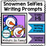 Snowmen Writing Prompts
