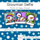 Snowman Selfie Point of View Scoot