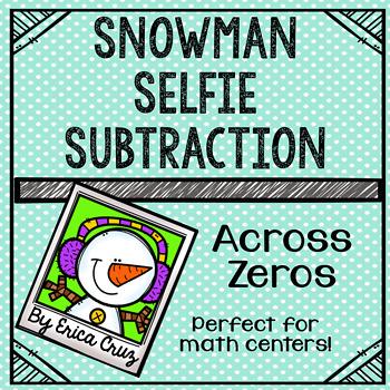 Subtraction Across Zeros Math Center or Game