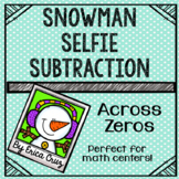 Subtraction Across Zeros Math Center or Game