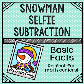Basic Facts Subtraction Math Center or Game