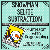 Multi-Digit with Regrouping Subtraction Math Center or Game