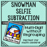 Multi-Digit without Regrouping Subtraction Math Center or Game