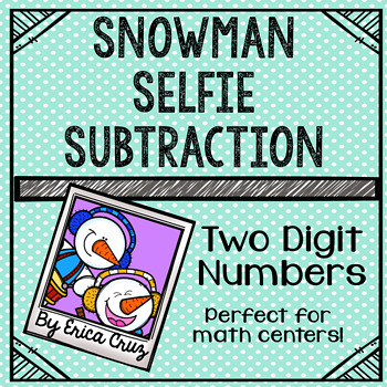 Two-Digit Numbers Subtraction Math Center or Game