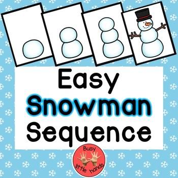 Snowman Sequence Activity