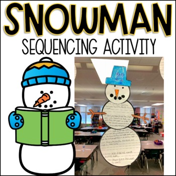 Snowman Sequencing Activity