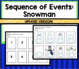 Snowman Sequencing: Building a Snowman