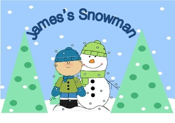 Snowman Sequencing Story