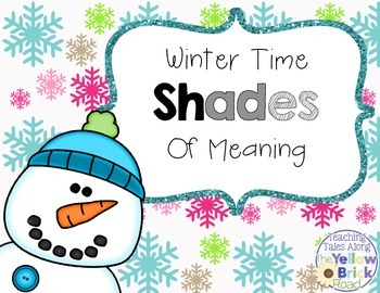 Snowman Shades of Meaning