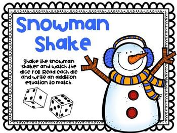 Snowman Shake