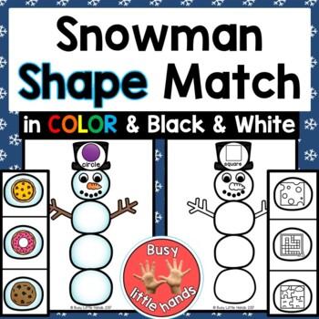 Snowman Shape Match
