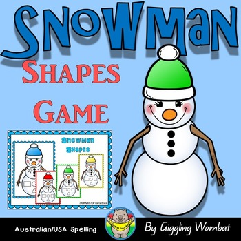 Snowman Shapes Game