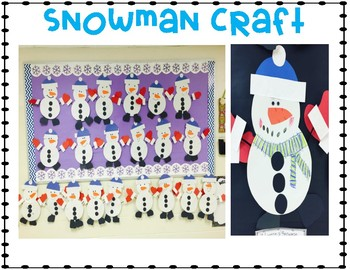 Snowman Shenanigans! {Literacy, Writing, & Craft Activities}