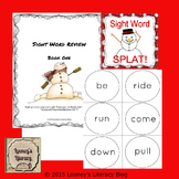 Snowman Sight Word Splat!
