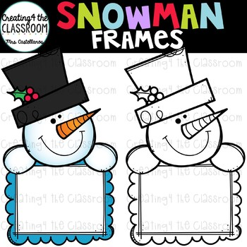 Snowman Signs Clip Art Snowman Clip Art By Creating4 The Classroom
