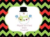 Snowman Singular/Plural Nouns-Freebie!