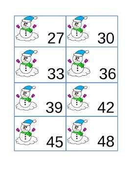 Snowman Skip Counting