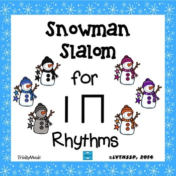 Snowman Slalom Game: Rhythm (Ta and Ti-Ti)