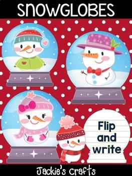 Snowman Snowglobes - Jackies Craft Bundle, Winter Activities, Christmas