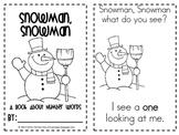 Snowman, Snowman: Number Words