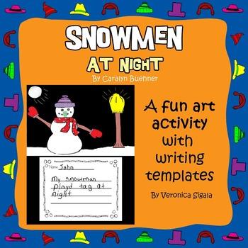 Snowman, Snowmen at Night, Snowmen at Night Activity, Snow