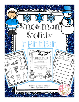 Snowman Solids FREEBIE Preview Pack