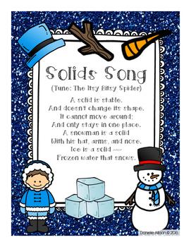 Snowman Solids Song & Activities