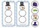 Snowman Sounds - Initial Sound Matching Game