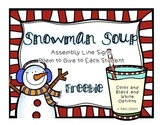 Snowman Soup Freebie