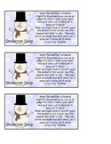 Snowman Soup Holiday Gift Tag