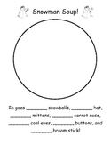 Snowman Soup - Number Word Practice
