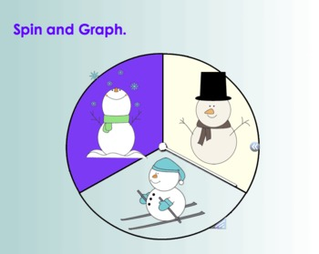 Snowman Spin and Graph for Interactive SmartBoard (Notebook 11)