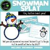 Christmas Boardgame Snowman Splat