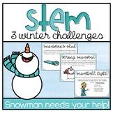 Snowman Stem Challenges