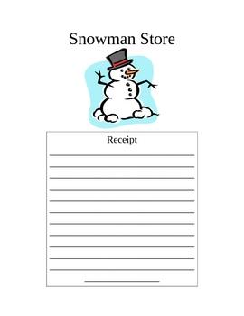 Snowman Store