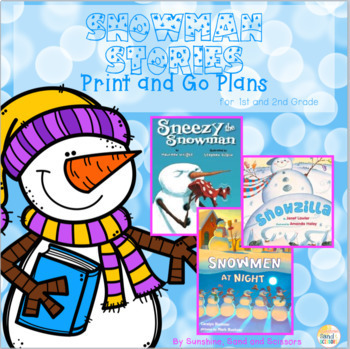 Snowman Stories Print and Go Plans