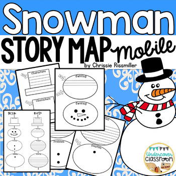 Snowman Story Map Mobile