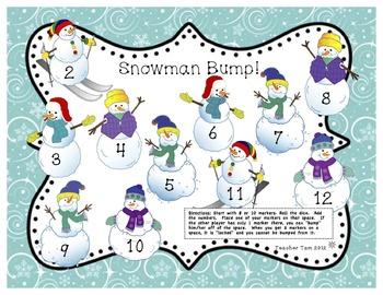 Winter Math and Literacy Packet Kindergarten, First Grade FREE