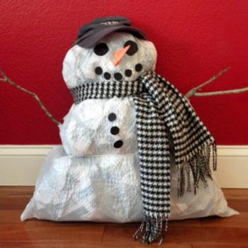 Snowman - Stuffed Craftivity