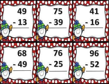 Snowman Subtraction