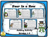 Winter Addition Math Stations