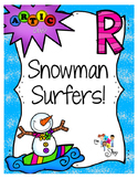 Snowman Surfers: Words with Initial R