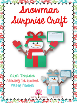 Snowman Surprise Craft