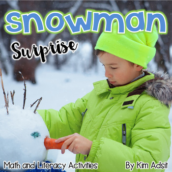 Snowman - Snowman Games and Activities for Literacy and Math v2.0