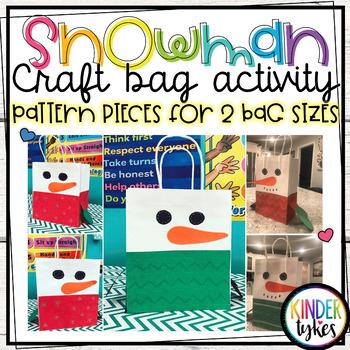 Snowman Sweater Bag Craft