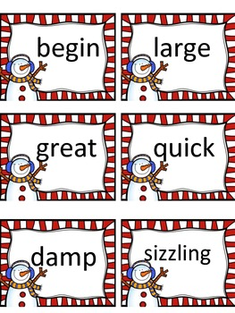 Snowman Synonyms