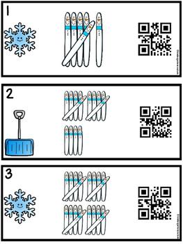 Snowman Tally Marks 1-20