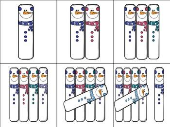 Snowman Tally Marks