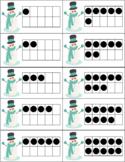 Snowman Ten Frame Matching 1-20